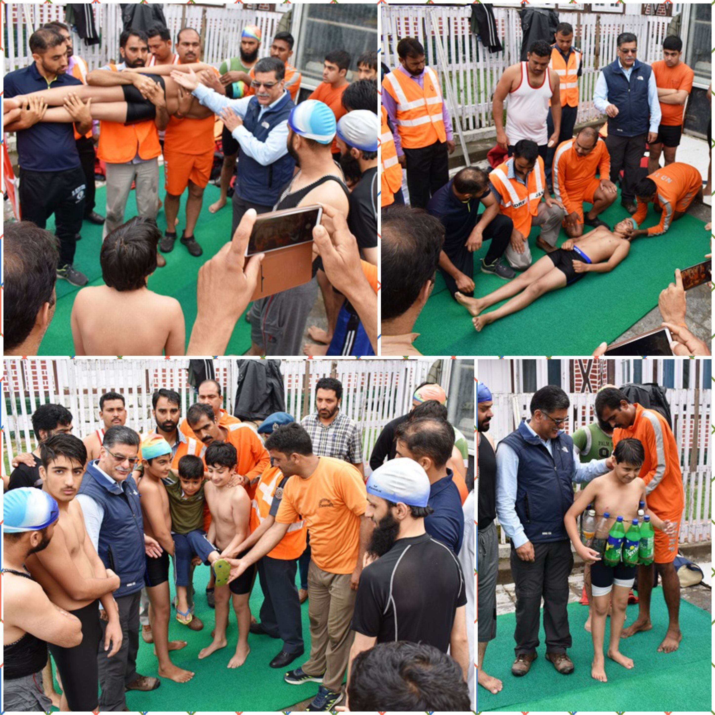 ABD NEWS 24 X7 Srinagar July 26 JK State Disaster Management Authority Organized Life Saving And Water Rescue Technique Training Programme Here At